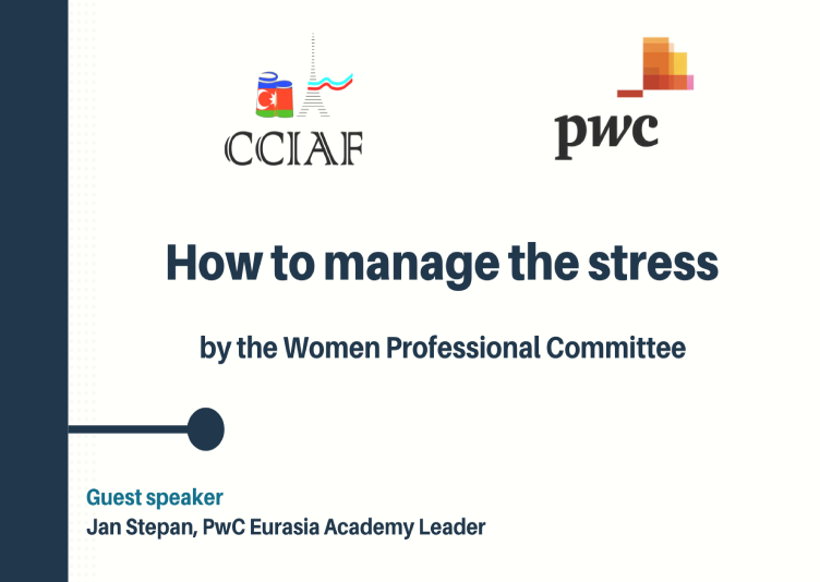 Webinar on How to manage the stress