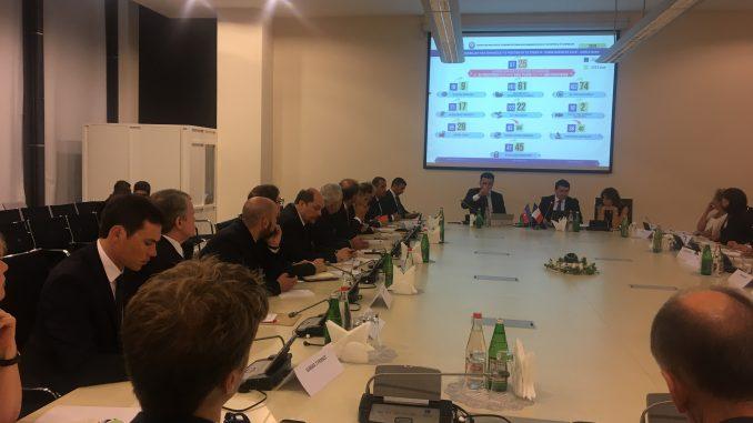 CCIAF organized meeting for MEDEF Business Delegation