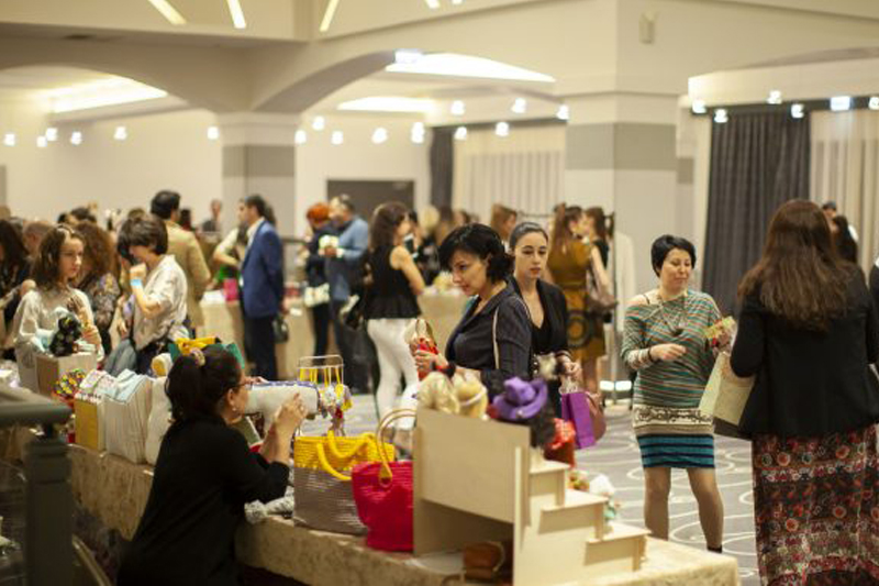 "CCIAF organized the 3rd ""Arts, Crafts and Business"" Exhibition"