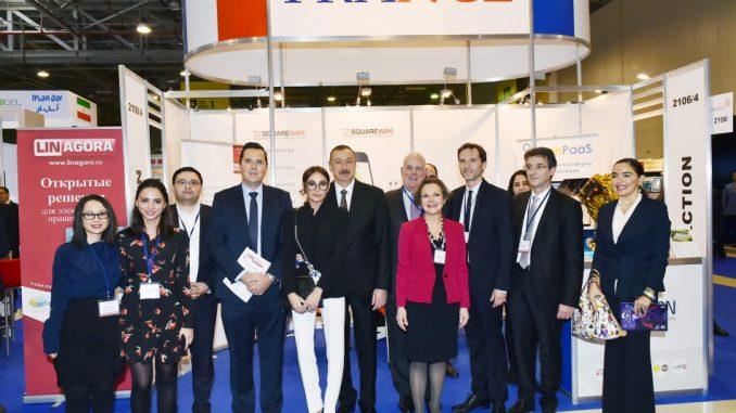 National pavilion of France at Bakutel-2017