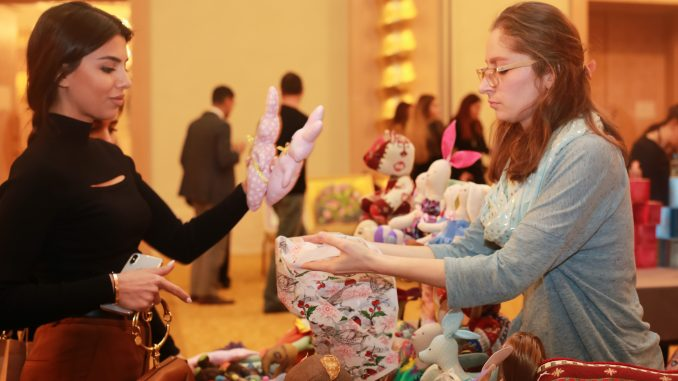 "CCIAF organized the ""Arts, Crafts and Business"" exhibition"