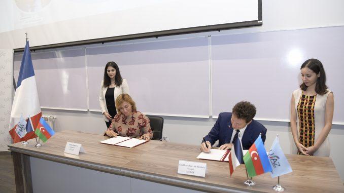 The CCIAF and MEDEF have signed a Memorandum of Understanding