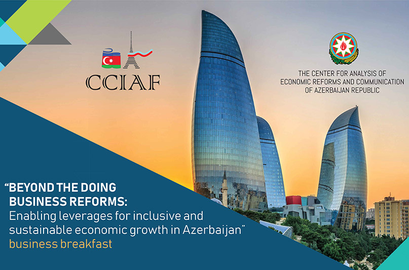 CCIAF monthly business breakfast with the Centre for Analysis of Economic Reforms and Communication