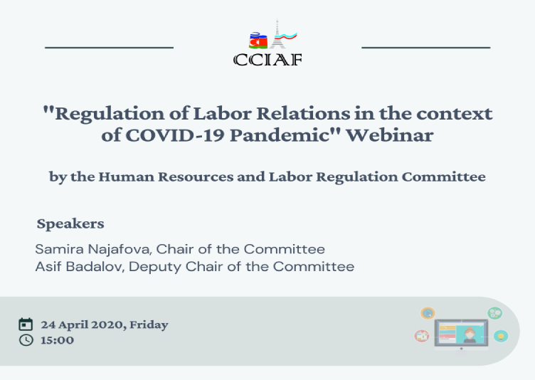 CCIAF HR and Labor Regulation Committee held a webinar