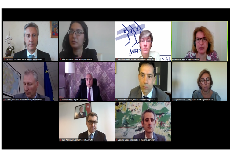 "CCIAF in partnership with SMBDA  held the opening session of the online conference ""Post-COVID-19: Recovering SMEs"""