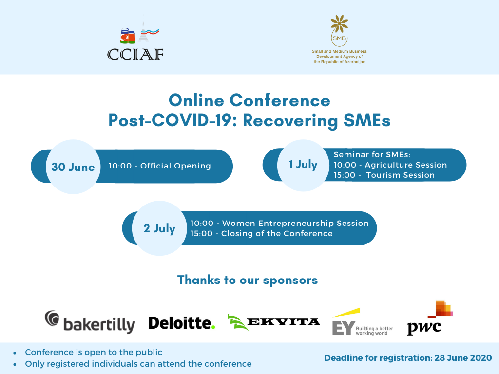 CCIAF in partnership with KOBIA to hold an online conference on Post-COVID  19: Recovering SMEs