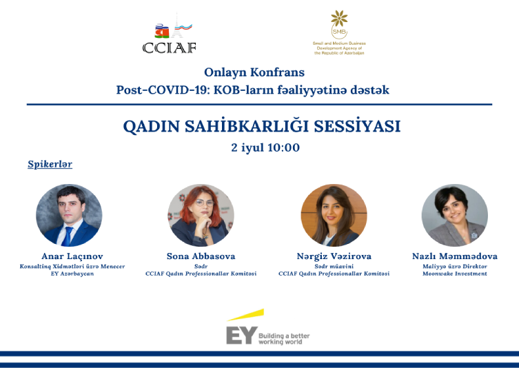 "Women Entrepreneurship Session of ""Post-COVID-19: Recovering SMEs"" online conference was held."