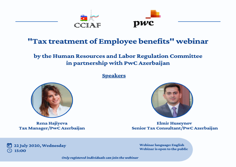 "Webinar on ""Tax Treatment of Employee Benefits"" was held"