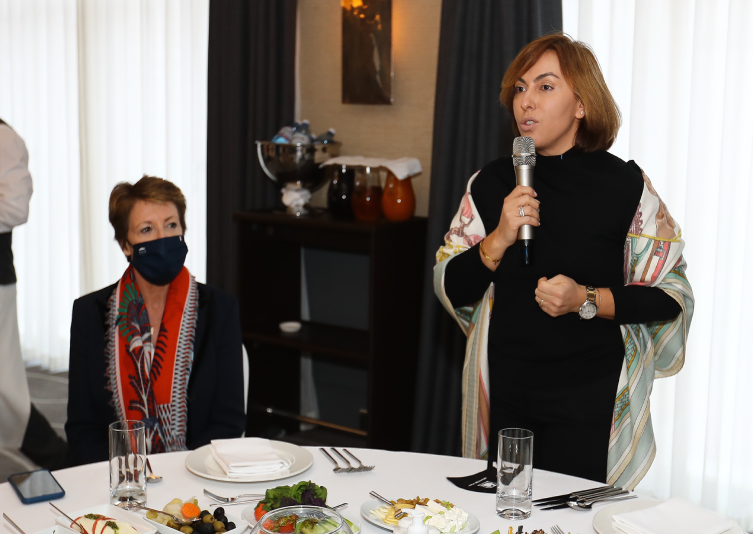 Members of the French National Assembly met with the AFchamber Board members