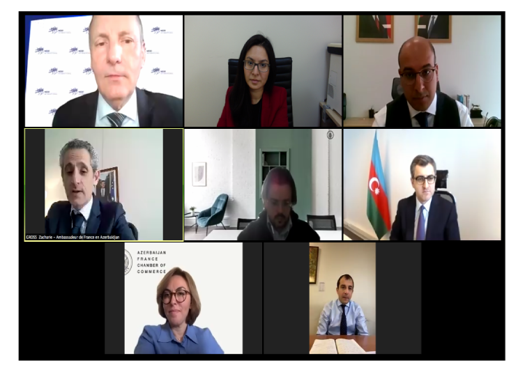 "AFchamber held an online meeting on ""New strategy of Azerbaijan Investment Company"""