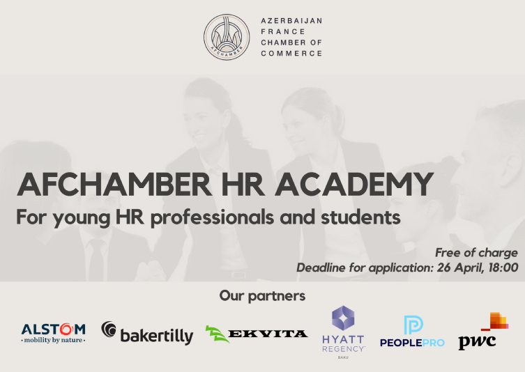 Call for AFchamber HR Academy application open now!