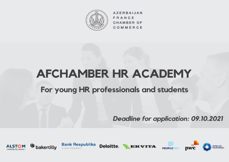 Call for Application: AFchamber HR Academy