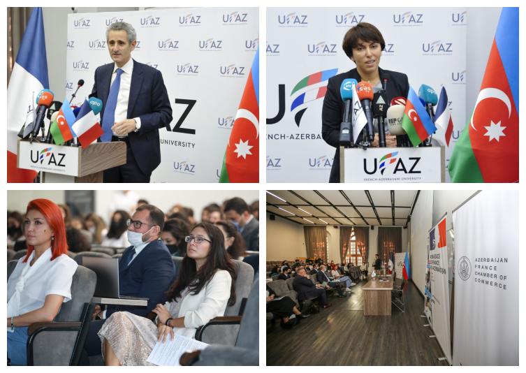 AFchamber Co-Organized French-Azerbaijani Career Fair